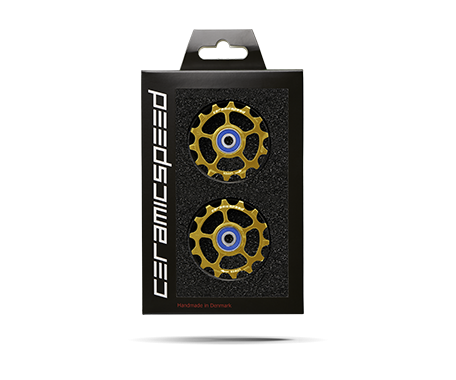 Pulleys CeramicSpeed SRAM Eagle Coated dorado